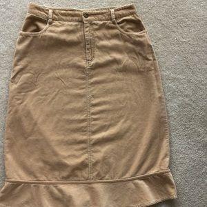Field Gear skirt, Sz 8, possibly vintage